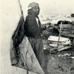 Mrs. Williams, Clinton Beach 1904 Member of a clan of the Tulalip Tribes