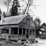 This weekend cabin at Brighton Beach was built by Lou Hull (Fritz Hull is his son and Tim Hull is his grandson) in about 1937/38.