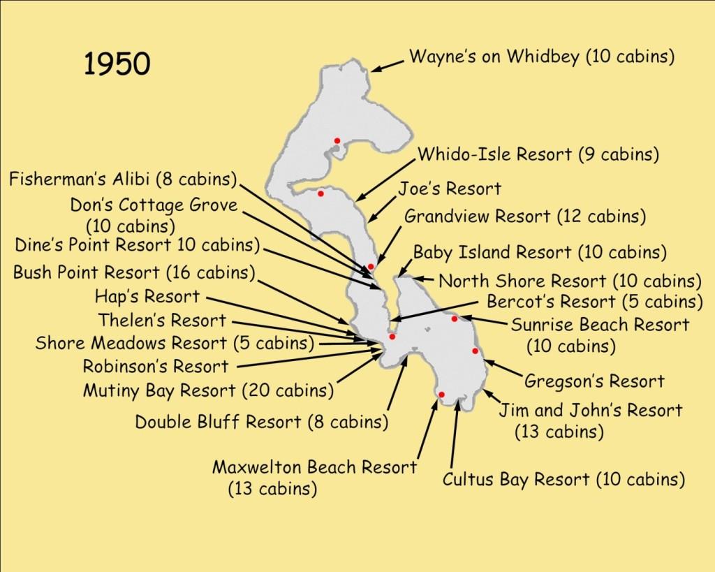 map of fishing resorts