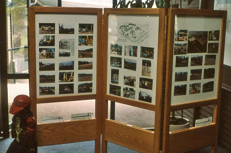 Oak Photograph Display