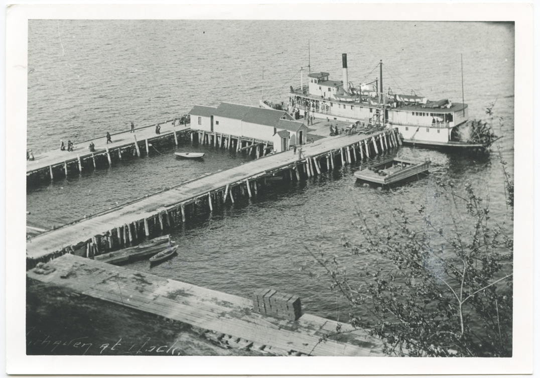 Langley dock.