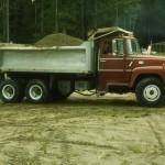 Keith Wrightsman dump truck.