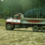 Myrna Bradley dump truck.
