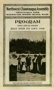Chautauqua Program cover