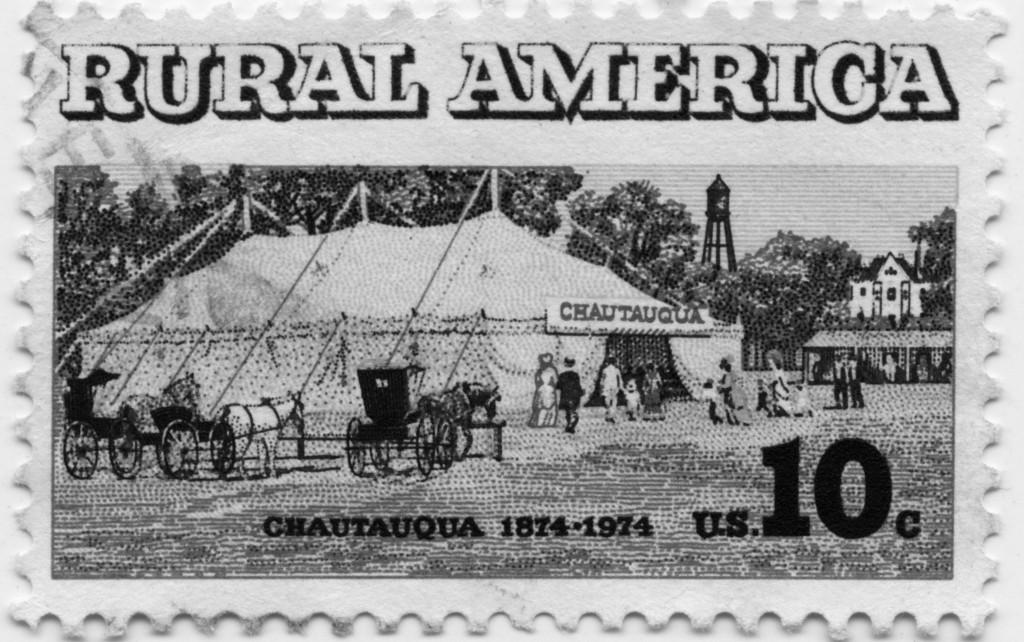 Chautauqua Stamp