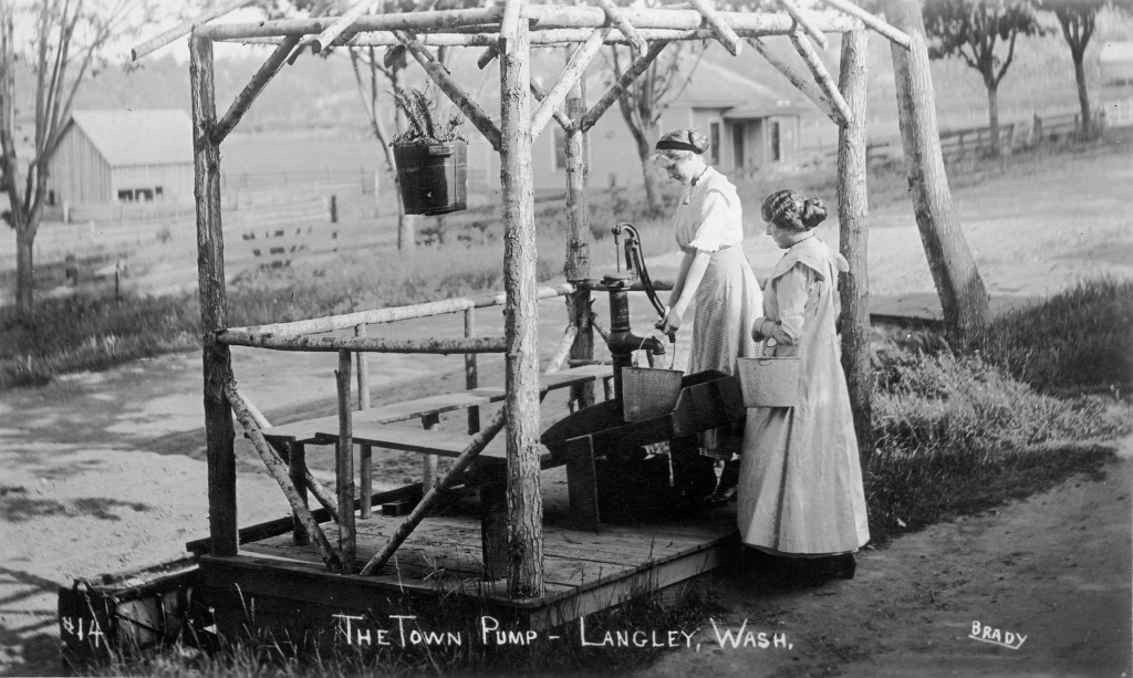 Langley water pump