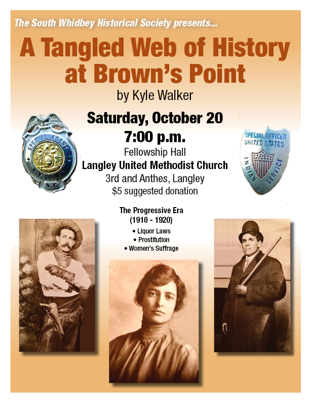 """October 20 """"Then and Now"""" Presentation Explores """"A Tangled Web of History at Brown's Point"""""""