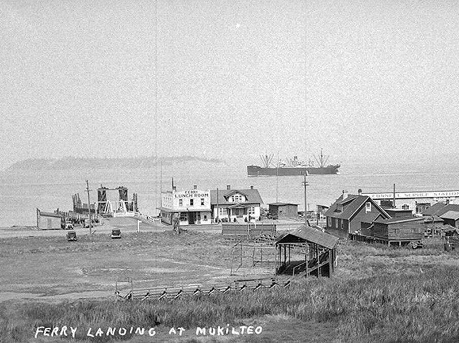 Mukilteo Ferry Terminal 1948