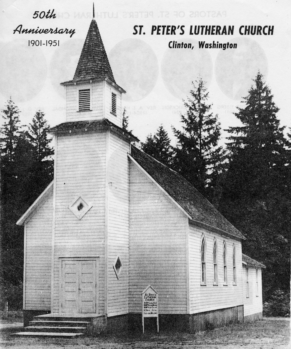 St. Peter's Lutheran Church in Clinton