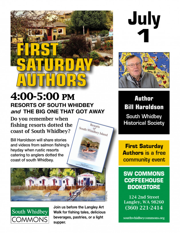 Two local history presentations on Saturday, July 1