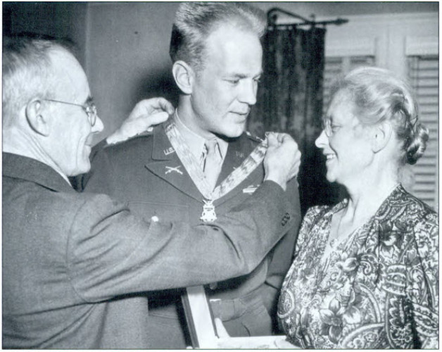 Clinton-born Medal of Honor recipient Arnold L. Bjorklund