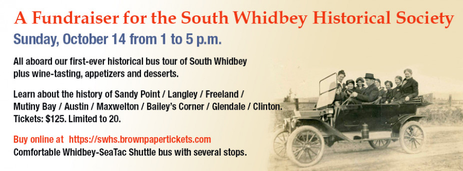 Oct. 14 Historical Bus Tour and Wine Tasting Fundraiser