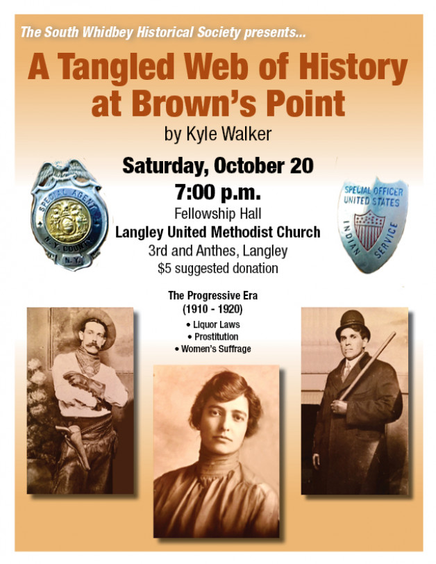 "October 20 ""Then and Now"" Presentation Explores ""A Tangled Web of History at Brown's Point"""